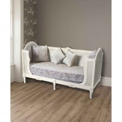 Shabby Chic-antique day bed