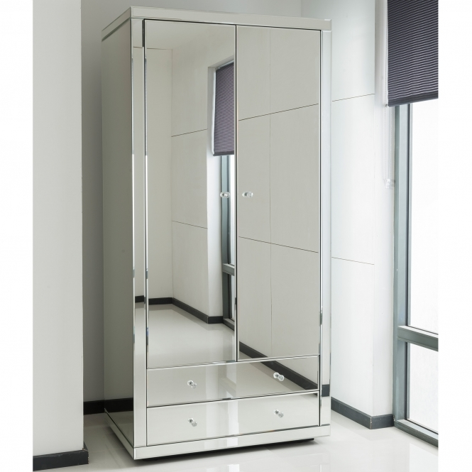 Mirrored Wardrobe