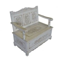 handcarved-antique-french-style-bench-with-storage