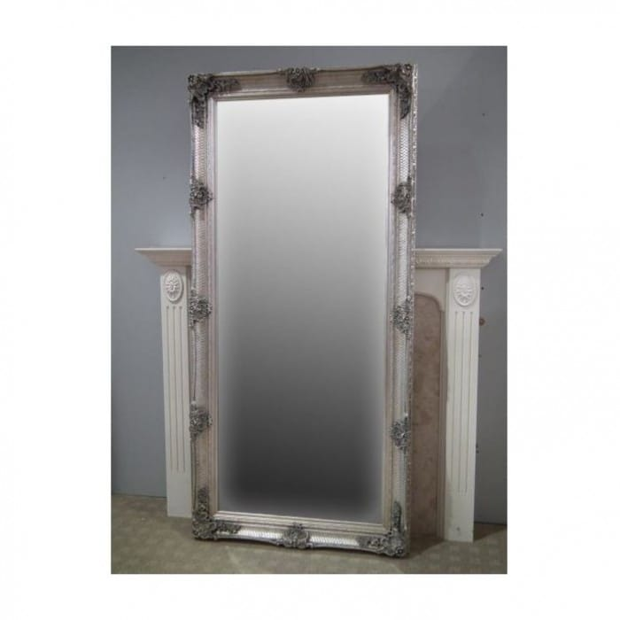 silver-antique-french-style-floorstanding-mirror