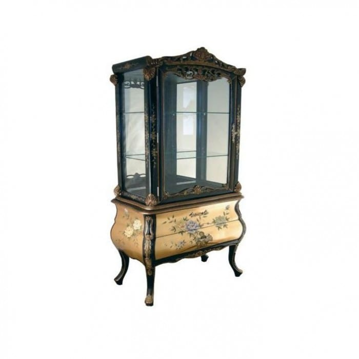 antique-french-style-display-cabinet