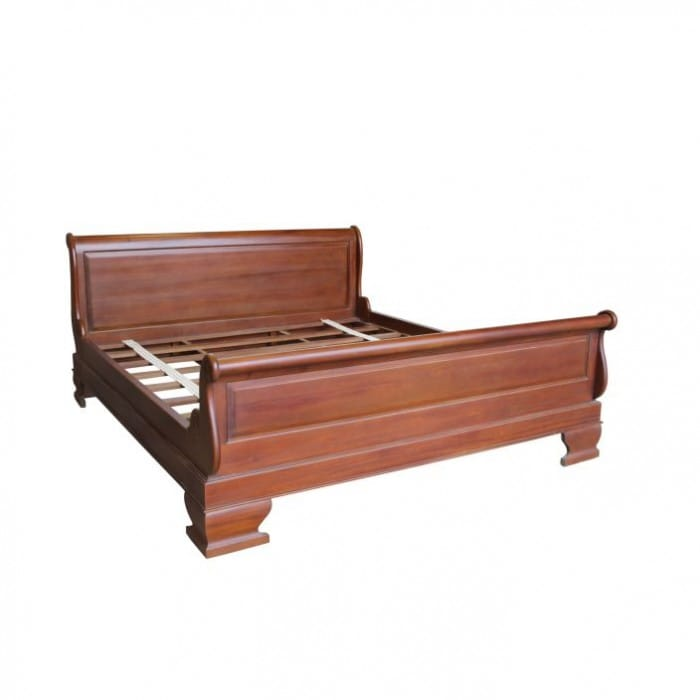 sleigh-antique-french-style-bed