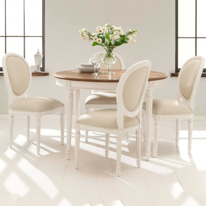 A Welcomed New Addition To Our Range Of Antique French Dining Furniture  Comes This Exquisite Dining Table Set. Featuring 6 Detailed Chairs And A  Contrasting ...