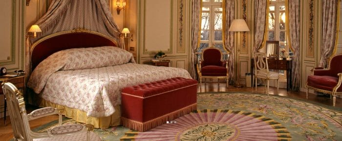 Photo of the ritz hotel bedroom London