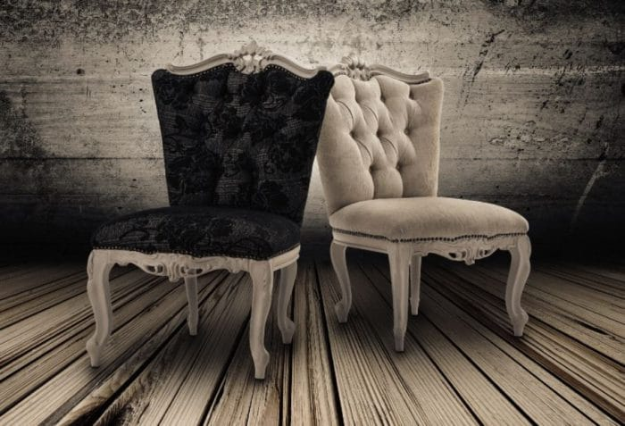 Shabby Chic Fabric Chairs