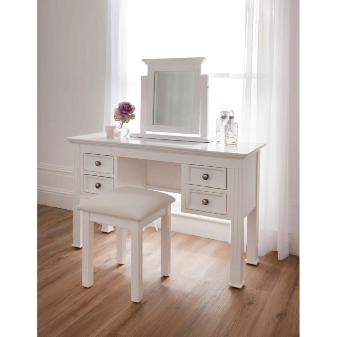how to make a dressing table shabby chic