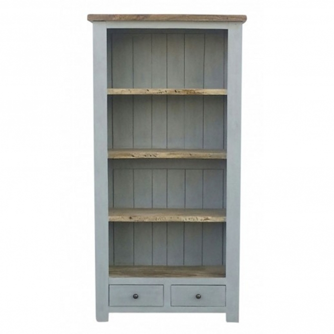 Grey Shabby Chic Bookcase