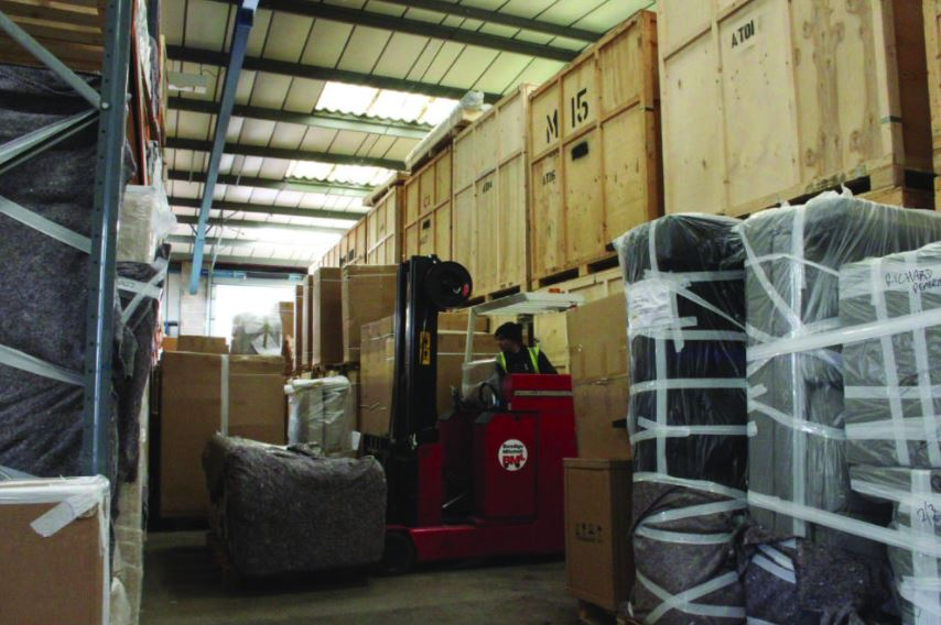 Furniture Storage Warehouse