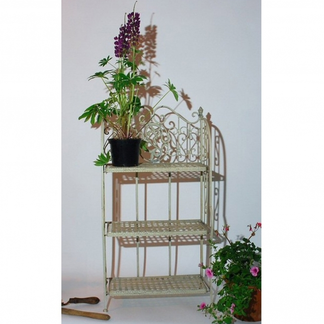 3 Tier French style plant vase stand