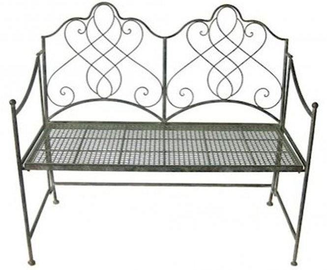 Avalon antique French style garden bench