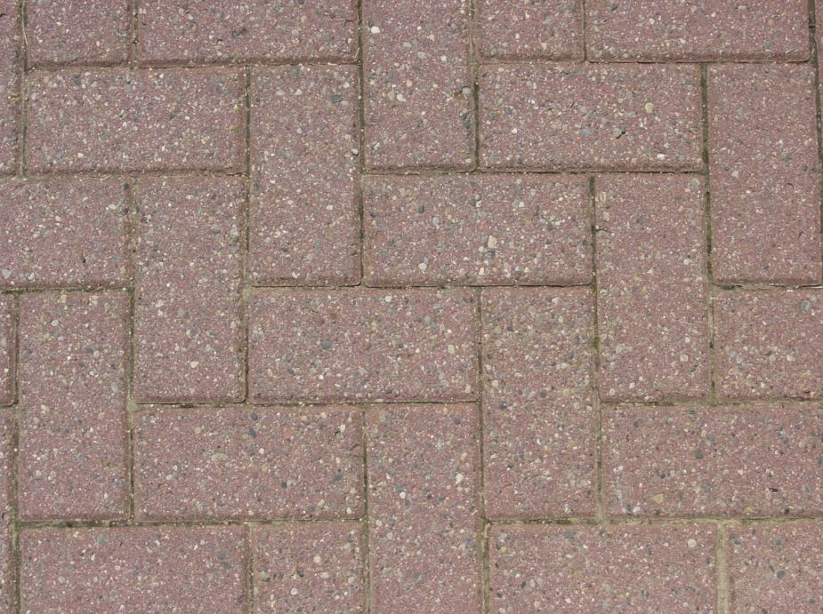 Block paving brickwork