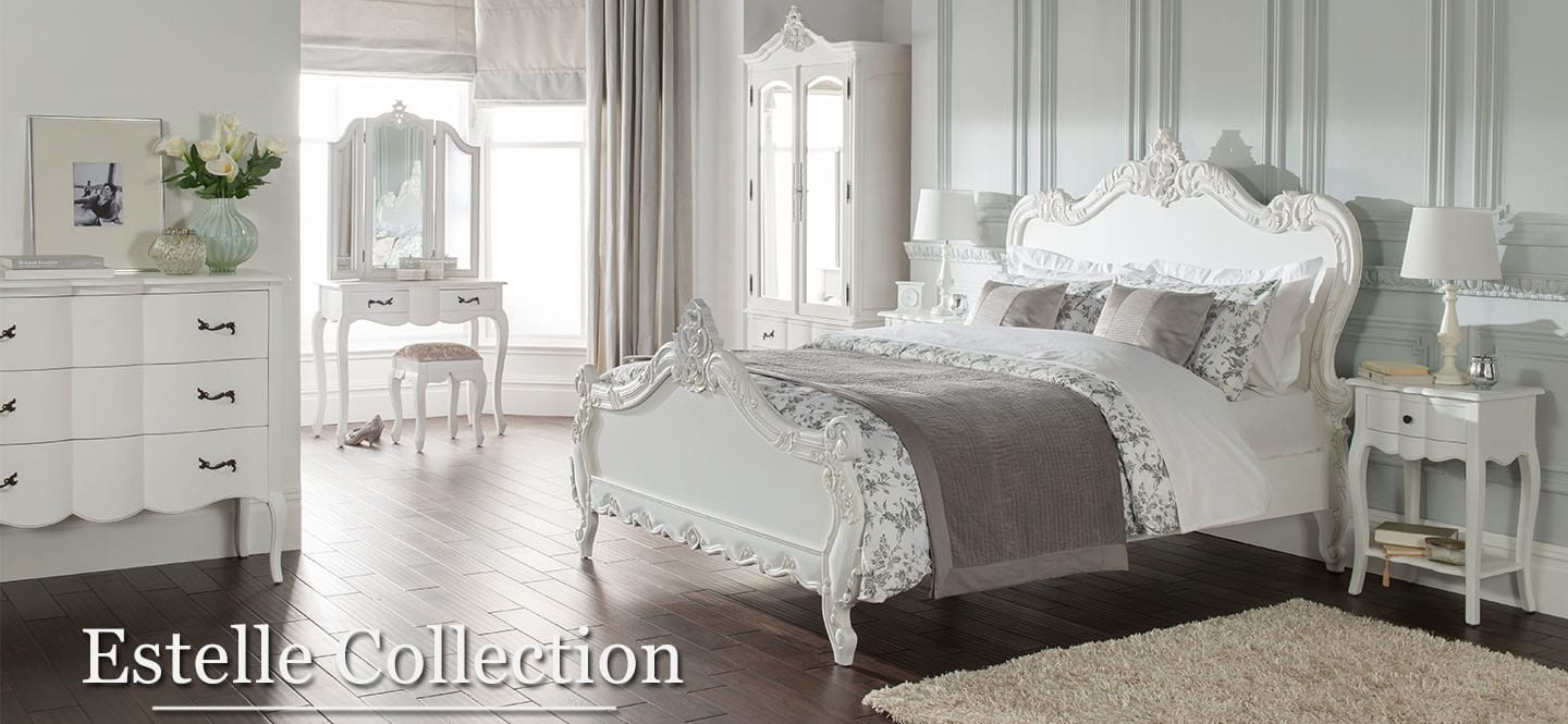 Estelle French bedroom furniture set