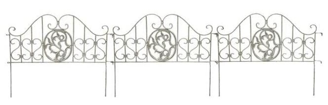 French style garden dividers
