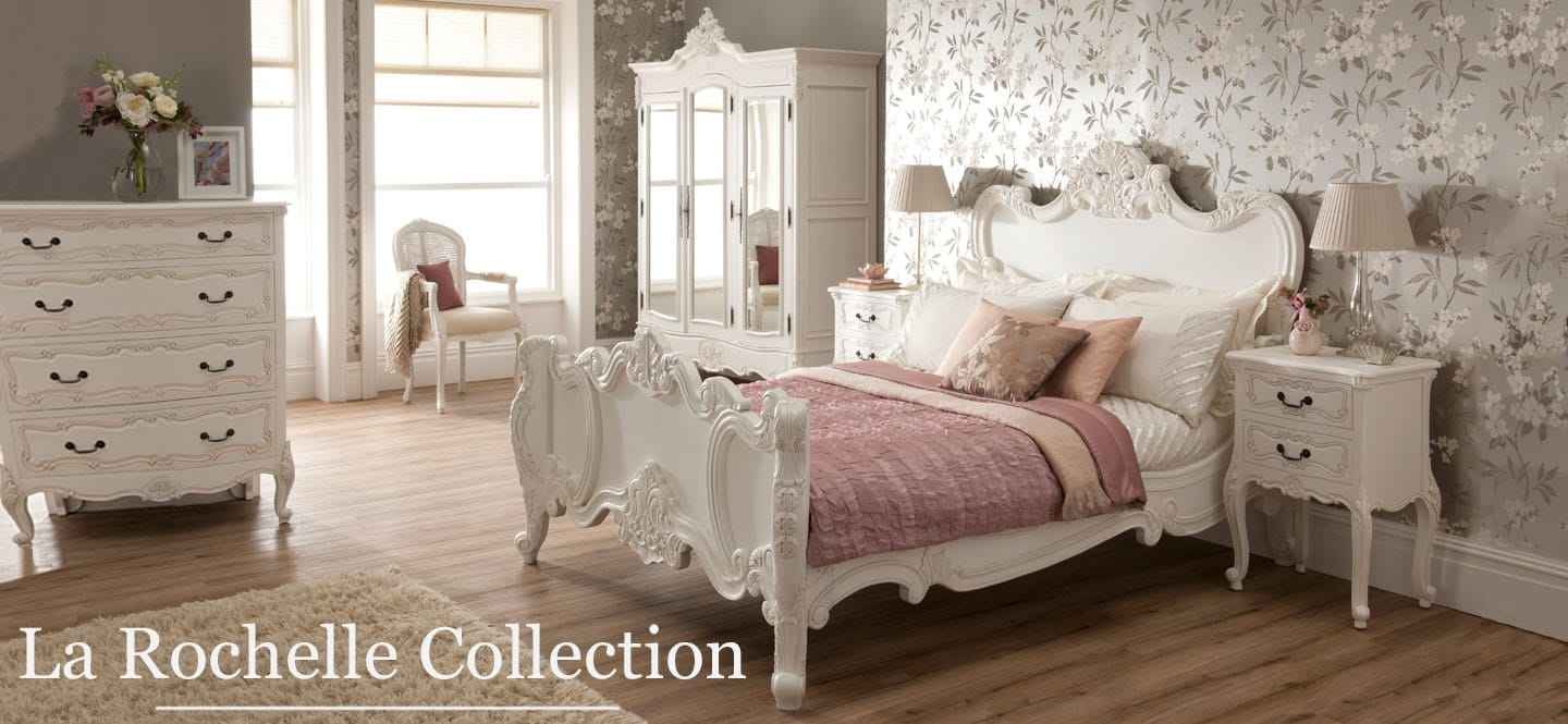 La Rochelle French bedroom furniture set