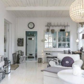 Modern shabby chic style room