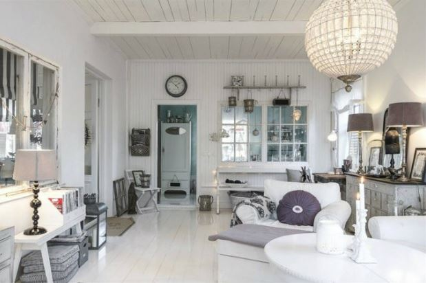 Ideas to decorate and furnish a home in the shabby chic style ...