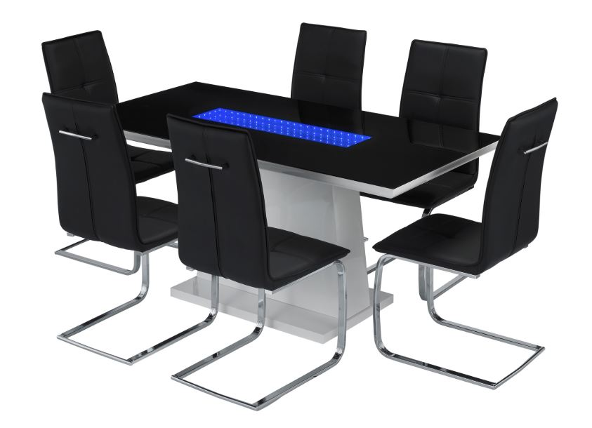 LED Dining Table Set - Matrix Range