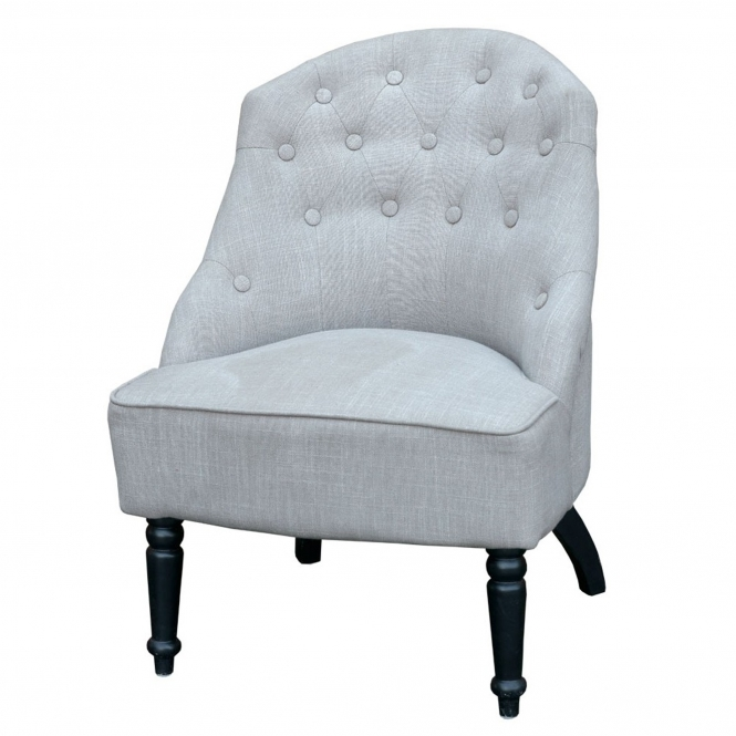 French Style Grey Vintage Chair