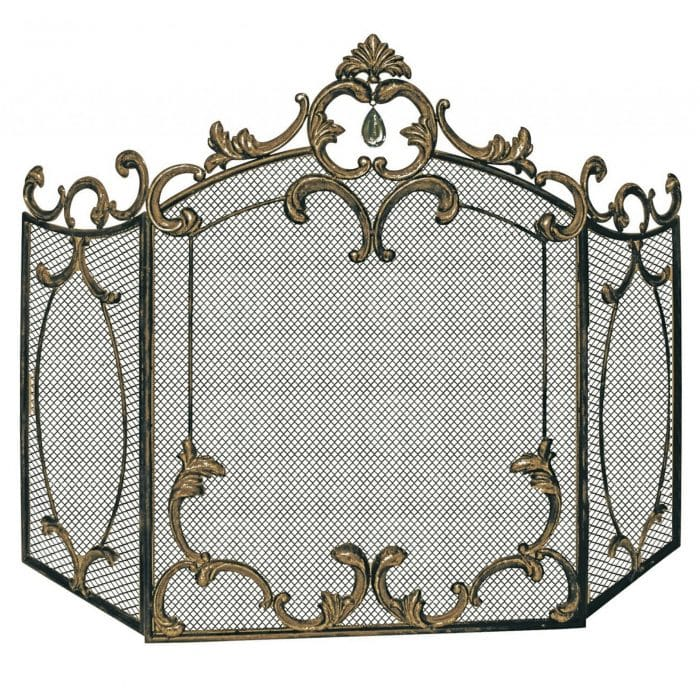 Antique French Style Fire Screen made from Iron