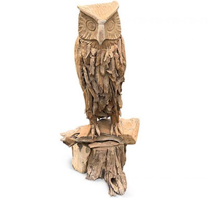 driftwood owl