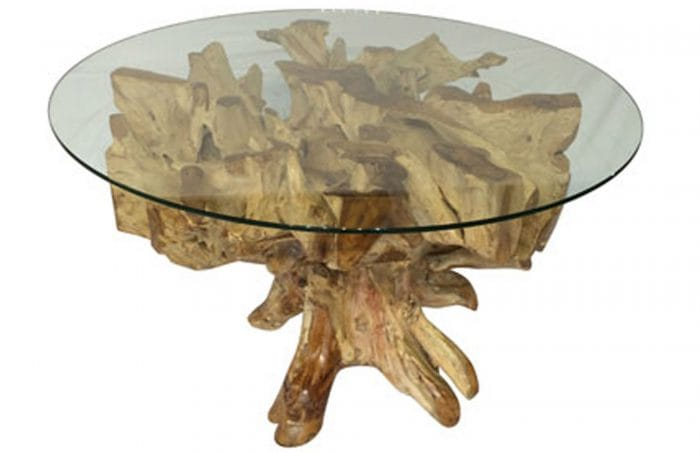 driftwood dining table round driftwood design