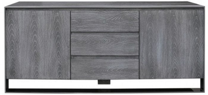 Grey wooden sideboard