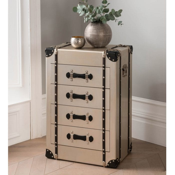 4 Drawer Storage Trunk