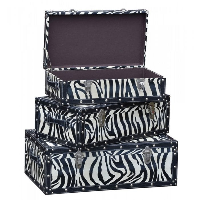 Stylish home design storage trunks,, coloured storage trunks