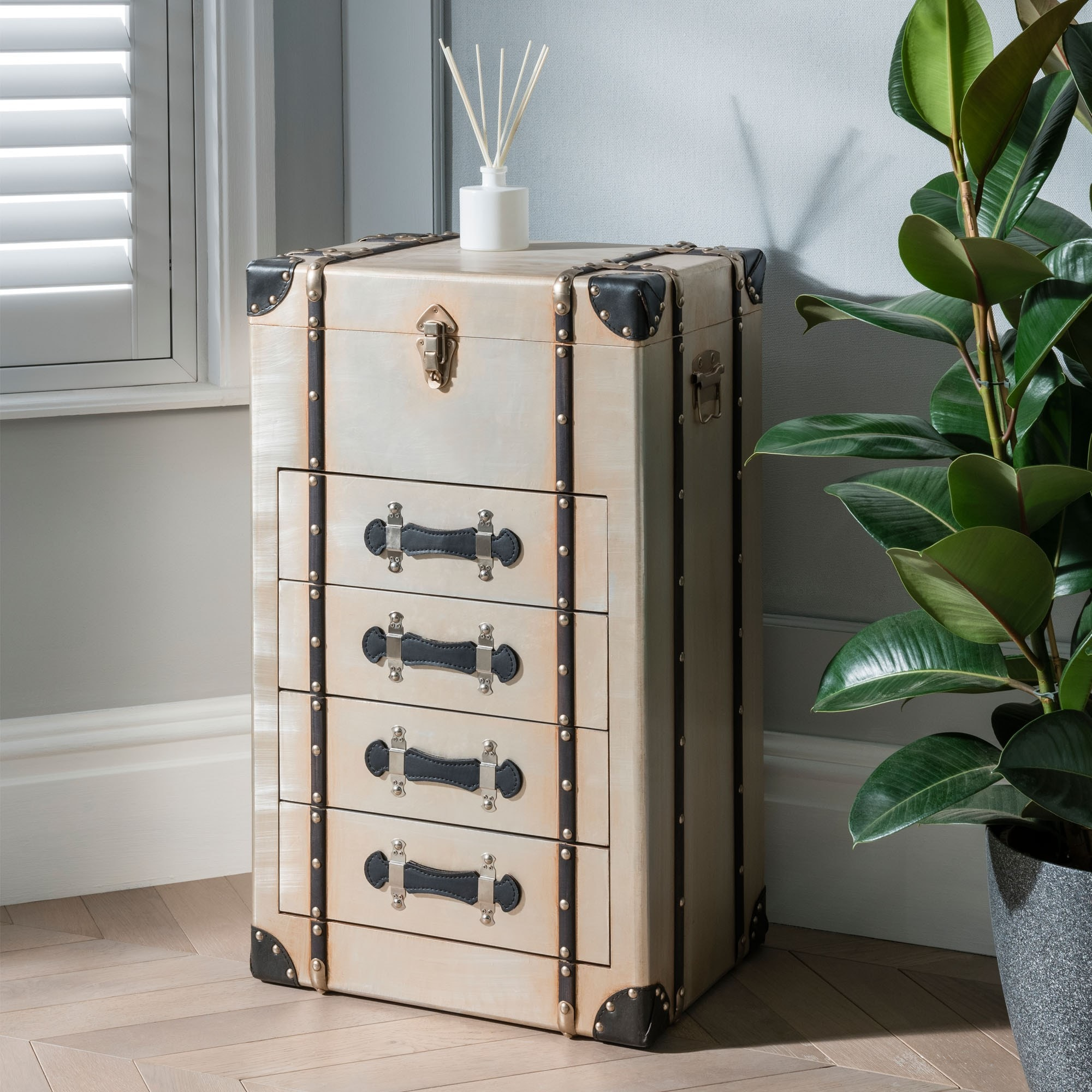 Decorative storage trunks you'll adore