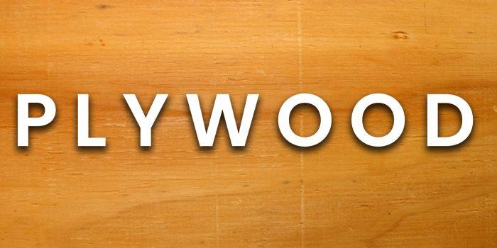 Plywood wood type