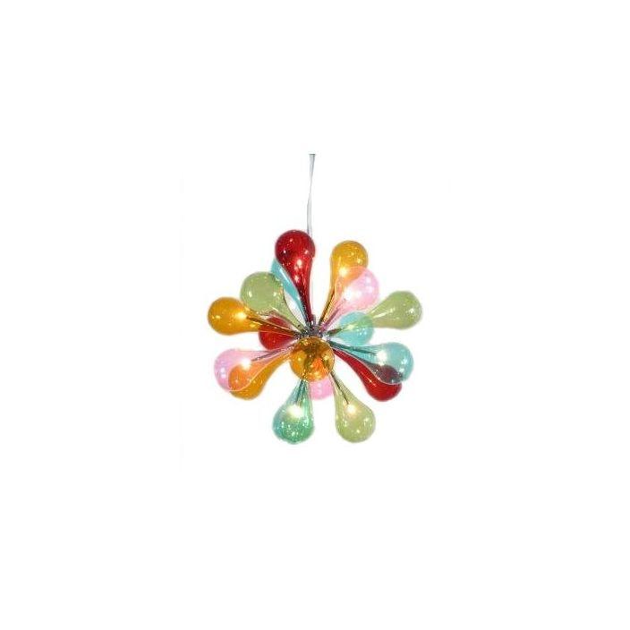 12 lamp multicoloured chandelier aloadofball Images