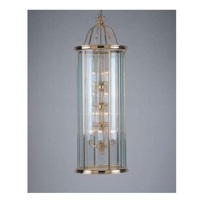18 Light Bevelled Glass Lantern