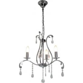 3 Light Electric Antique French Style Pendant