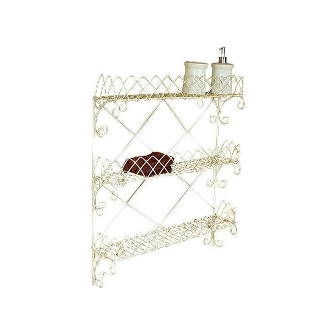 3 Shelves Wire Wall Rack