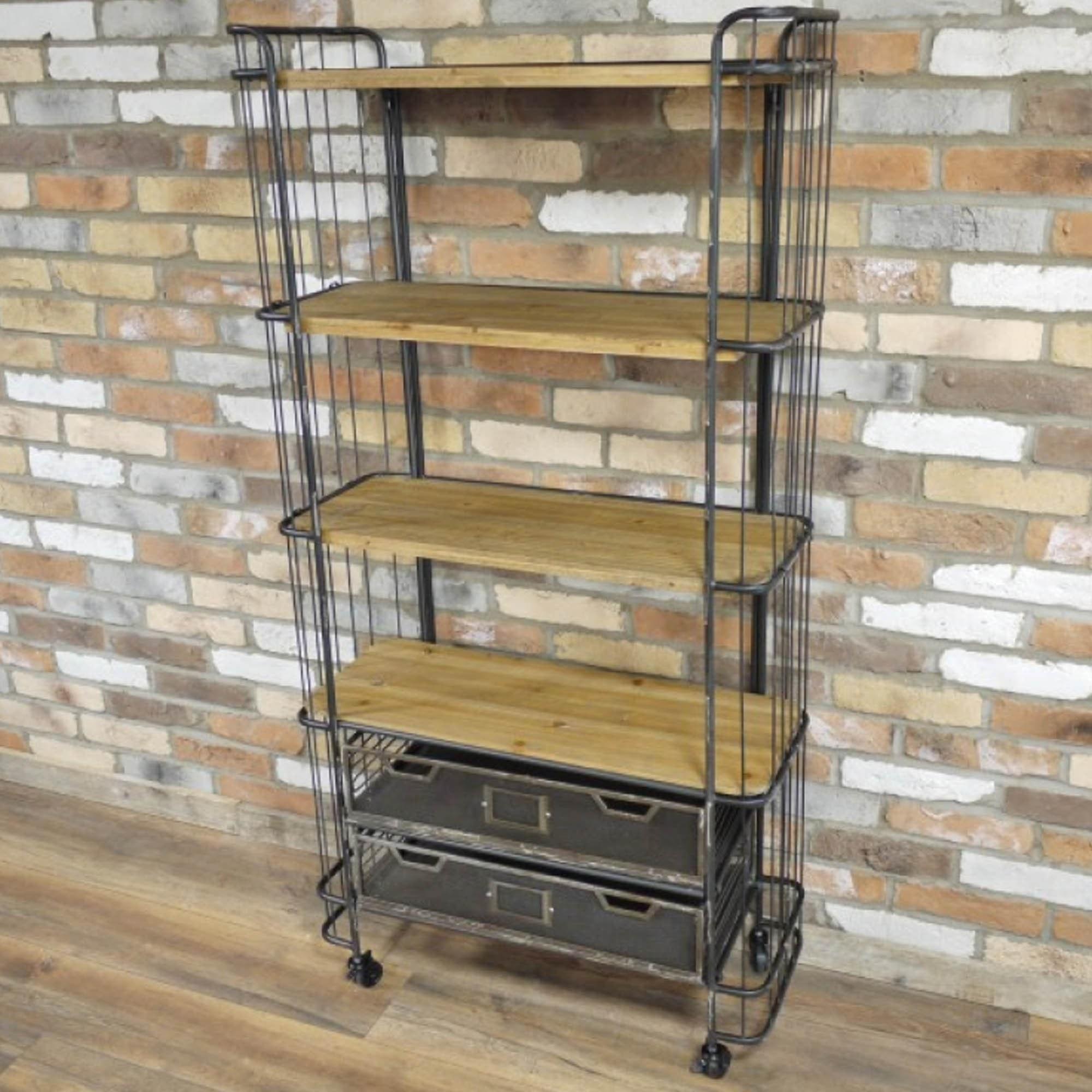 20 Tier Industrial Shelves