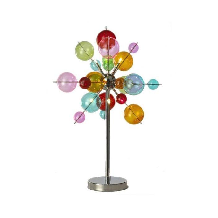 Buy 6 Light Multicoloured Ball Table Lamp