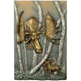 A Moose Loose Plaque