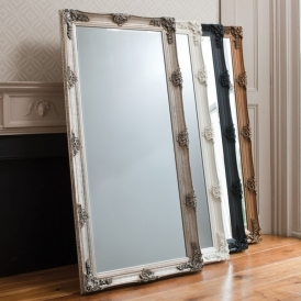 Abbey Silver Leaner Mirror