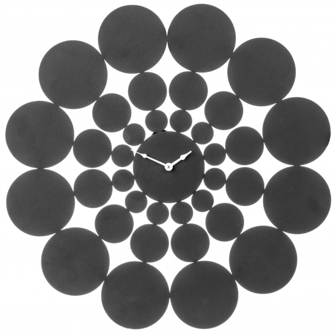 Abstract Discs Wall Clock