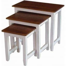 Acacia Lisbon Country Nest Of Tables