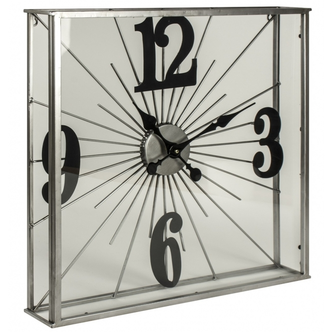 Addison See Through Wall Clock