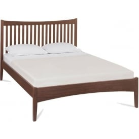 Alba Walnut Low Footend Bed