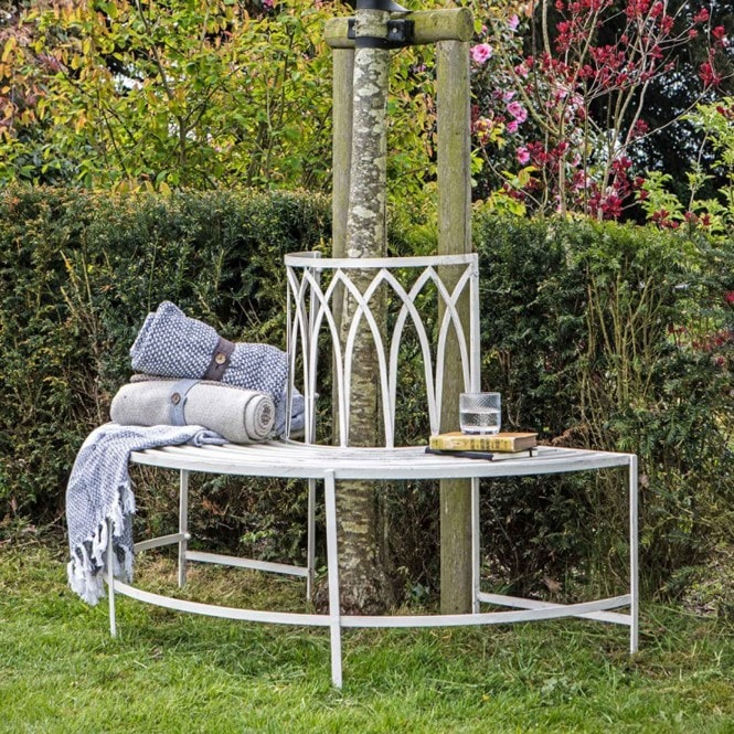 Alberoni Outdoor Tree Bench Seat Outdoor Bench Tree Bench