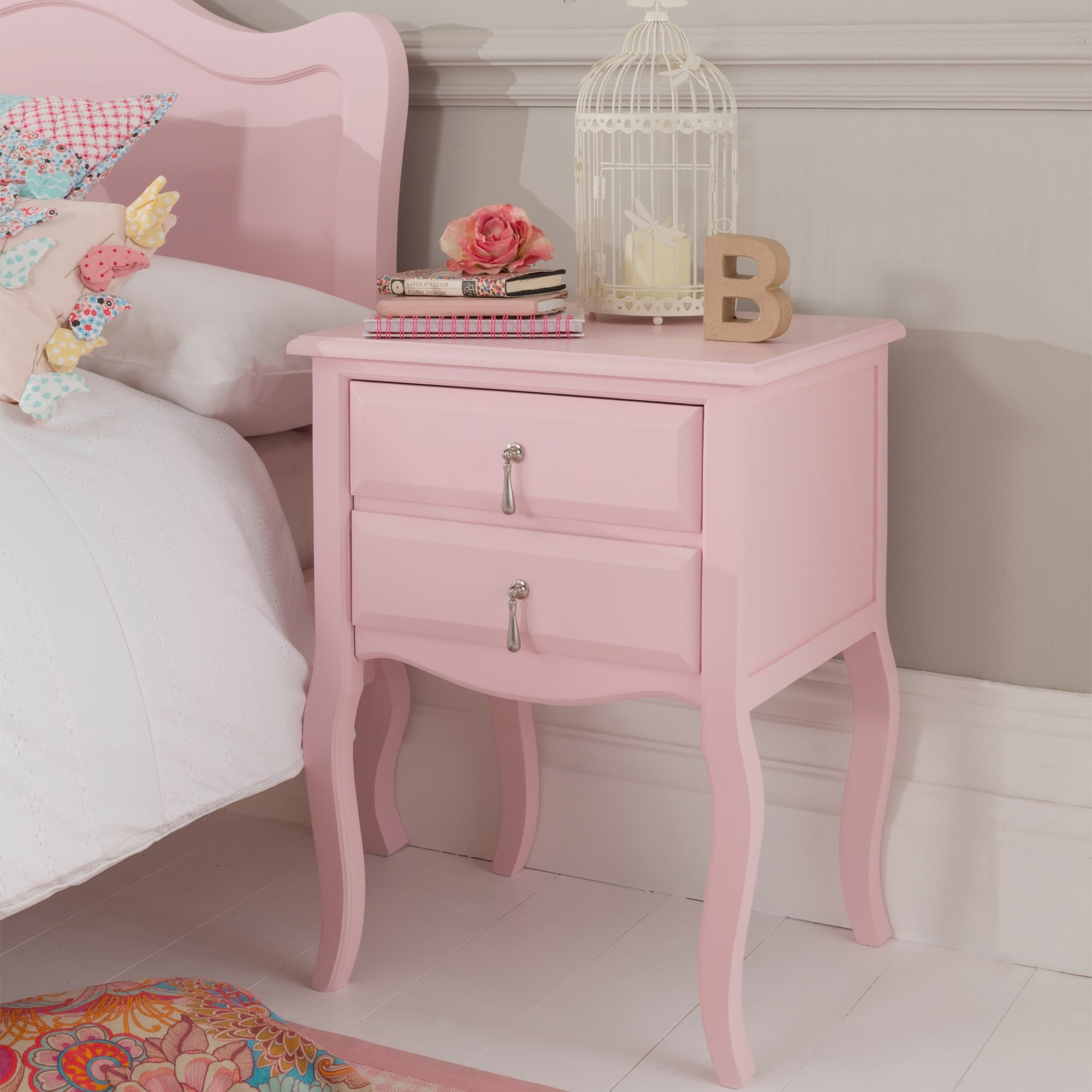 Alexander Rose Antique French Style Bedside Table