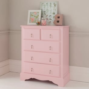 Alexander Rose Antique French Style Chest Of Drawers