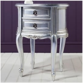 Alexandria Antique French Style Bedside Table