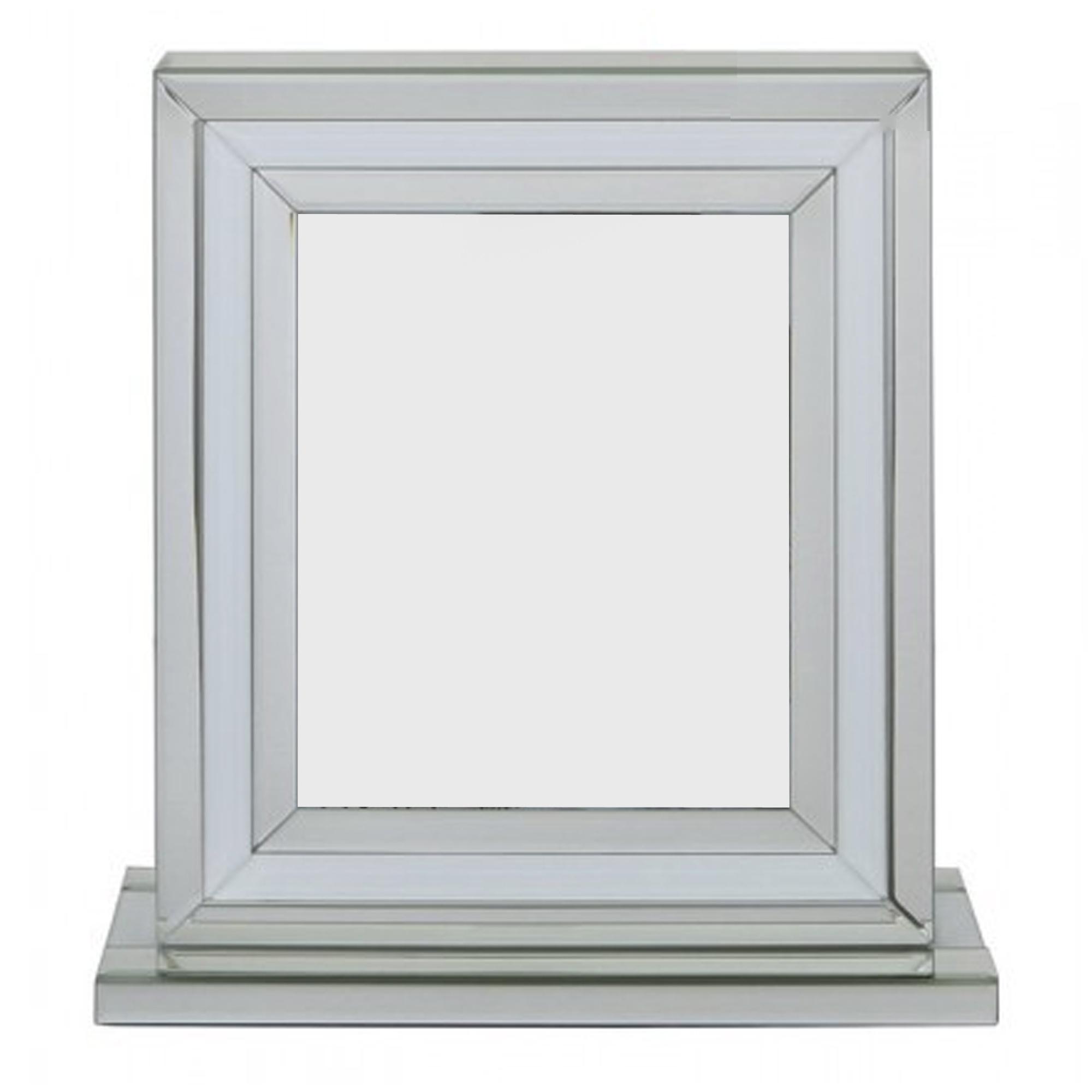 Alghero White Large Mirrored Photo Frame | Frames