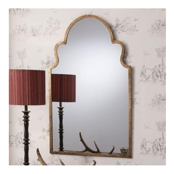 Algiers Antique French Style Wall Mirror