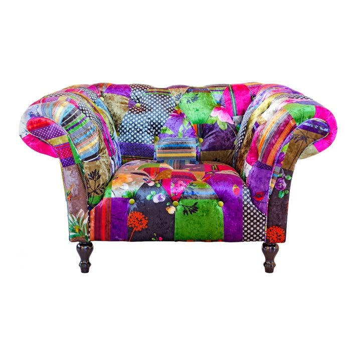 Alhambra Patchwork Arm Chair