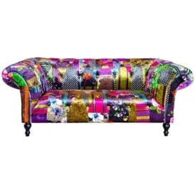 Alhambra Patchwork Two Seater Sofa